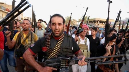 бой исламистов с полицейскими