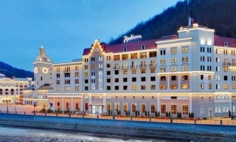 Radisson Роза Хутор признан лучшим горнолыжным отелем 2014 года