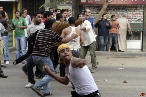 в Каире беспорядки