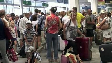 Российские туристы в Румынии