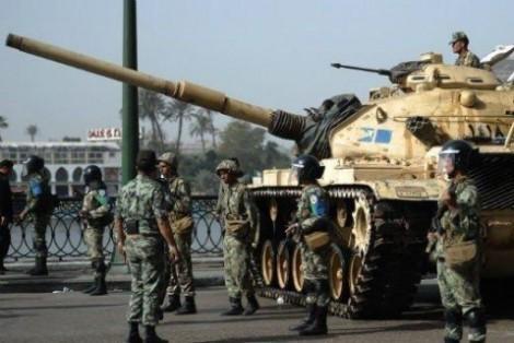 Египет концентрирует войска