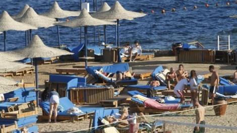 Туристы в Египте