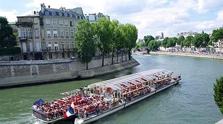 центр Парижа