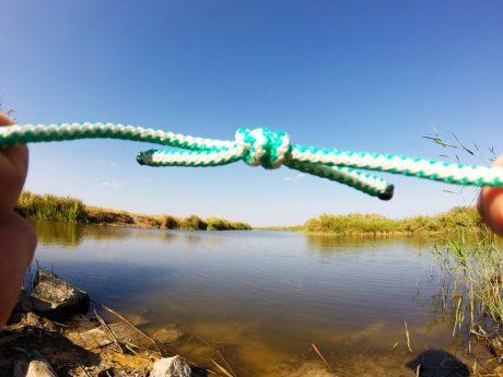 верёвочный туристический узел