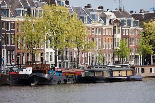 Амстердам. Пляшущие домики