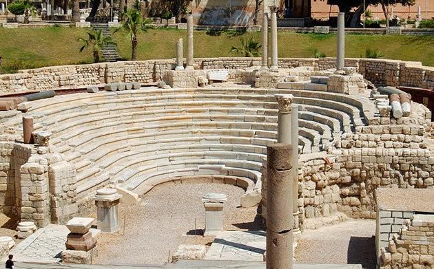 Руины античной Александрии