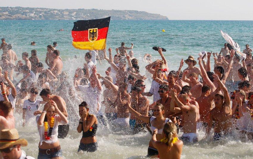 Немецкие туристы