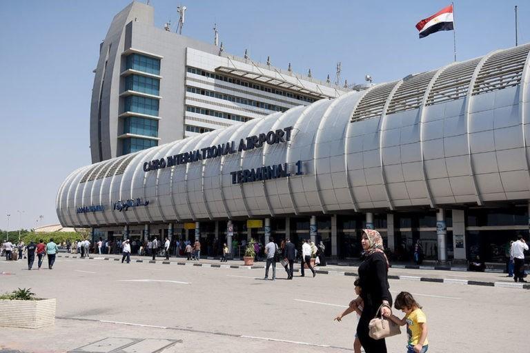 международный терминал аэропорта Каира