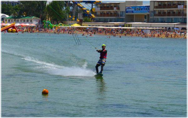активные морские развлечения в Анапе