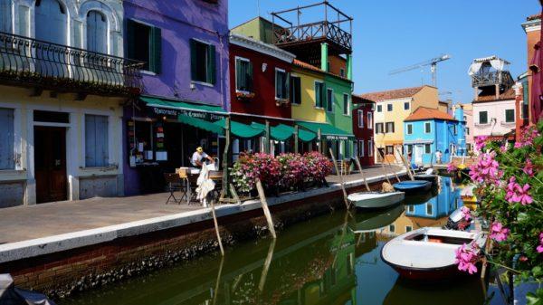 о. Бурано Италия