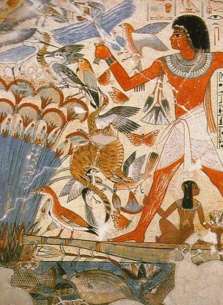 Школа живописи в Древнем Египте