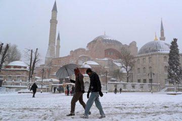 Турция в январе